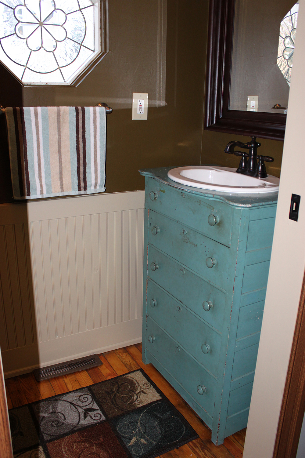 Repurposed Dresser To Bath Vanity, More Than 2 Dresser Into Bathroom ...