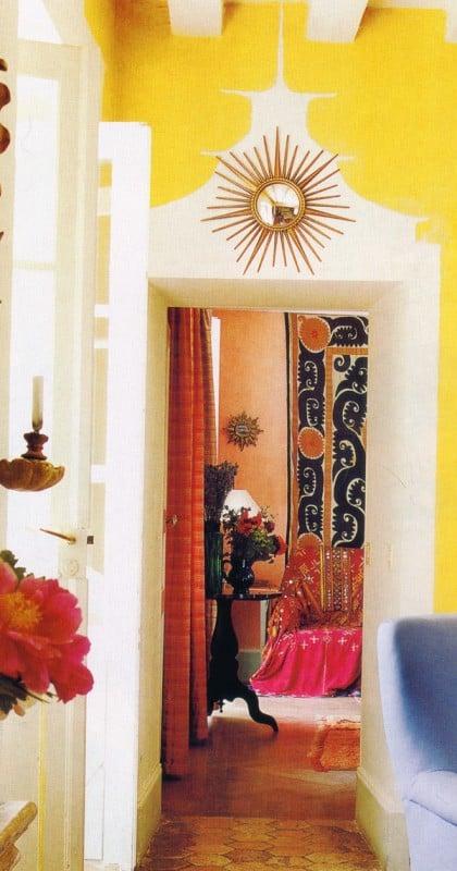 faux door trim interior painting ideas