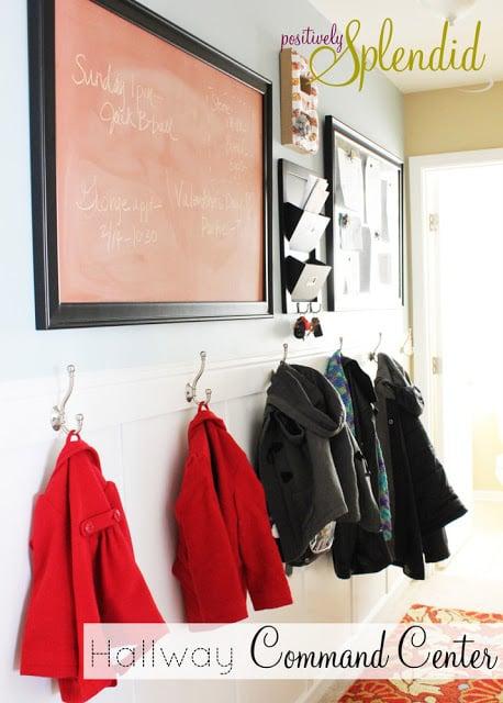 hallway family command center, Positively Splendid
