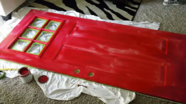 How To Paint A Front Door By Chris Loves Julia On Remodelaholic