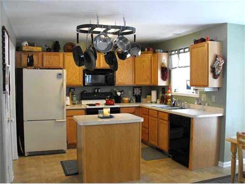 Fresh kitchen remodel before
