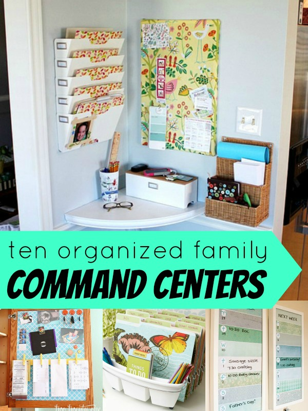 Top ten family command centers remodelaholic for The home ideas centre