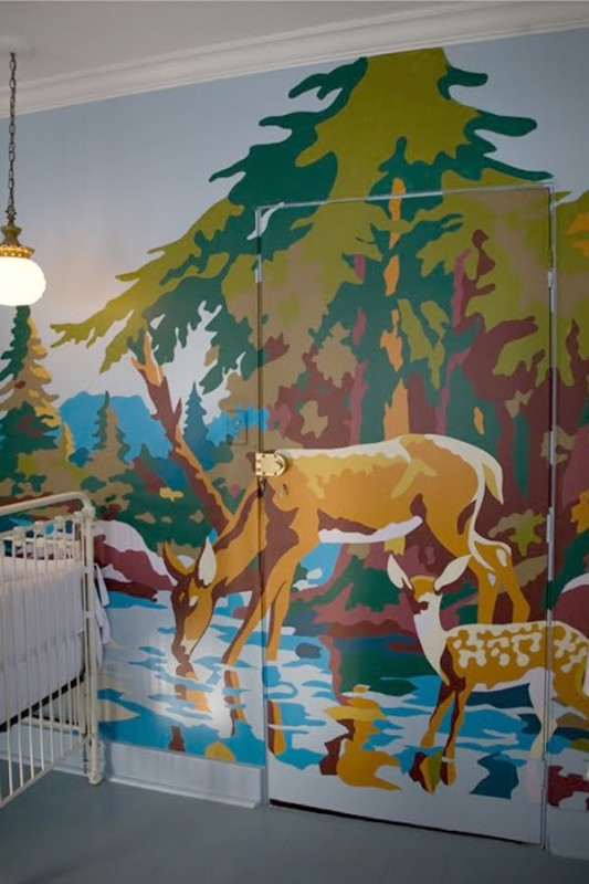 100 interior wall painting ideas construction haven for Creative mural art
