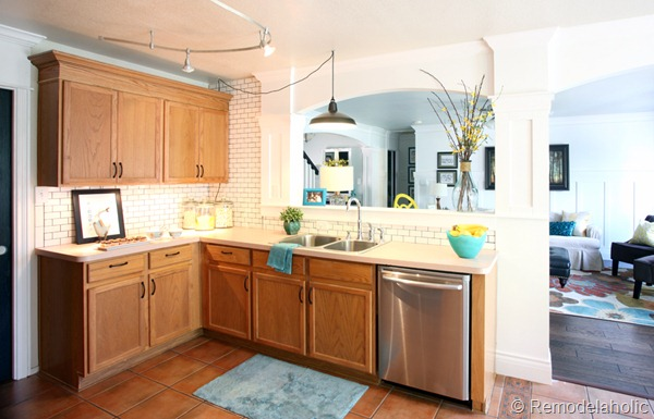 Beautiful Get This Look Park House with Oak Kitchen Cabinets