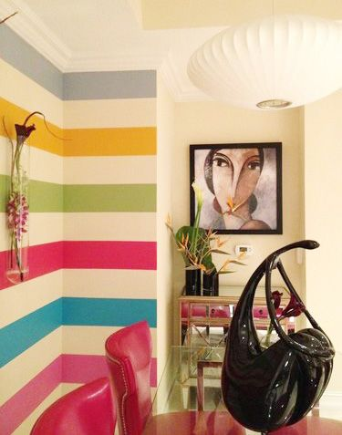Interior Wall Painting Designs interior wall paint design ideas home design planning beautiful at interior wall paint design ideas interior Great Sample Paint Project Via Sweet Peach Blog