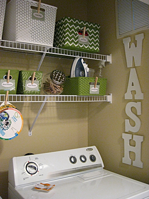 Small laundry room closet makeover eat sleep decorate - Laundry basket ideas for small space ideas ...
