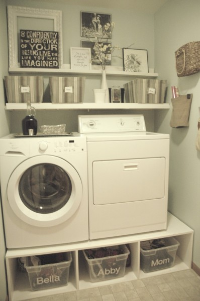 25 ideas for small laundry spaces construction haven - Tiny laundry room ideas ...