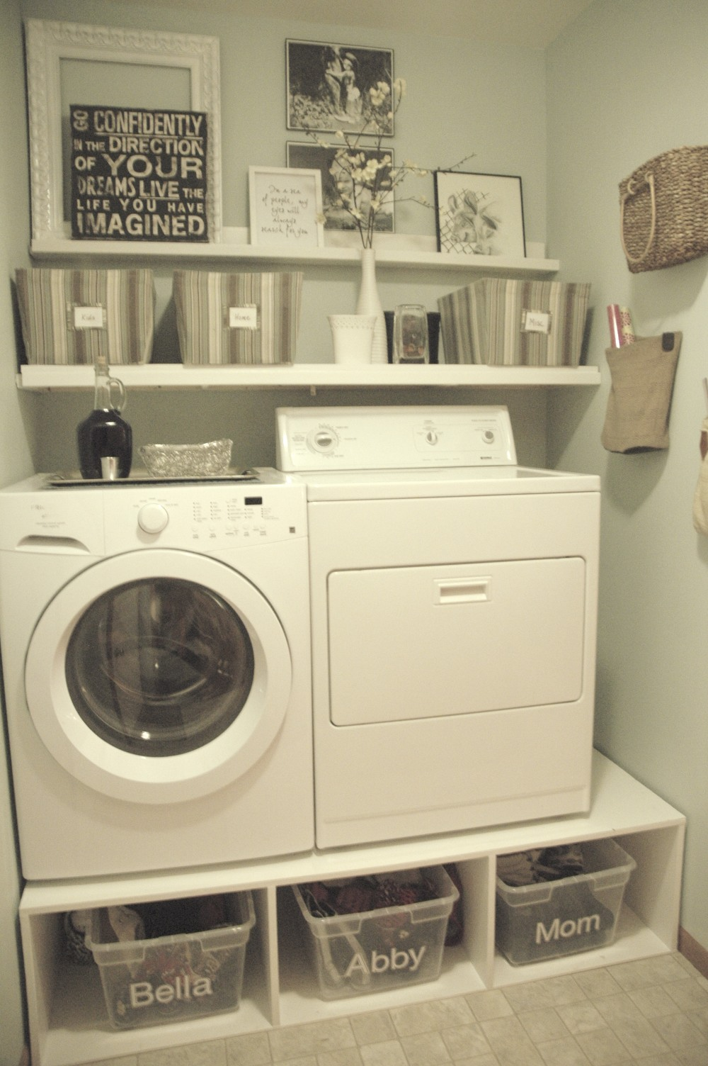 Small laundry room makeover ideas for Small utility room