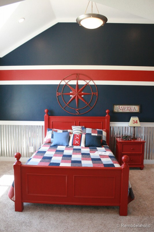 100 interior painting ideas for Painting stripes on walls in kids room