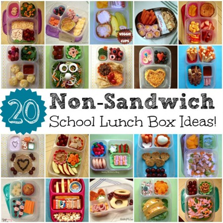 20 non-sandwich school lunch ideas, Keeley McGuire
