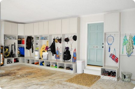 8-9 garage mudroom, Dixie Delights
