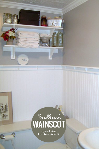 Beadboard Wainscoting Styles And Ideas From Remodelaholic