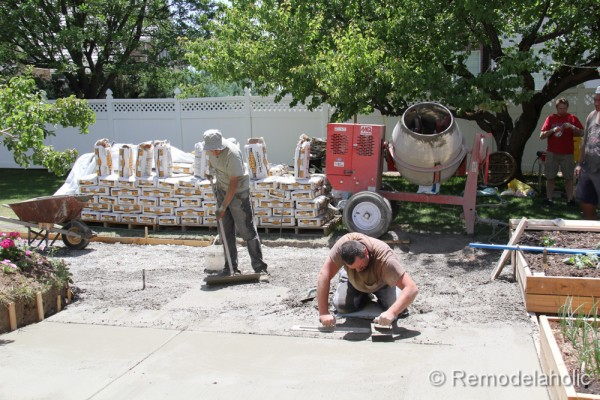 how to install a diy concrete patio - Diy Concrete Patio Ideas