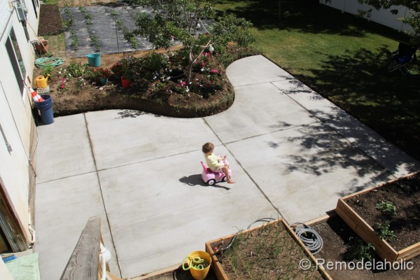 DIY concrete patio part two-23-2