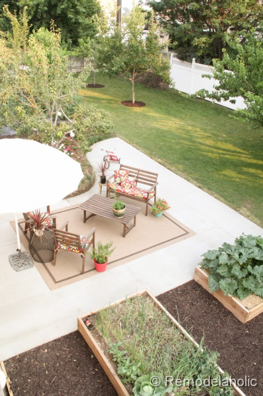 Exceptional DIY Concrete Patio Part Two 34 2