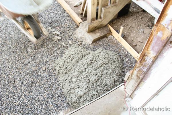 Amazing ... DIY Concrete Patio Part Two 4 2