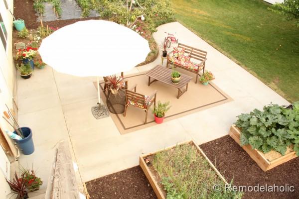 DIY Concrete Patio Part Two 48 2