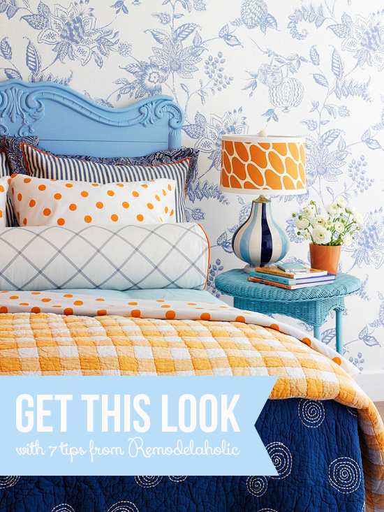 Get This Look - Pattern Mixing in Kids' Rooms