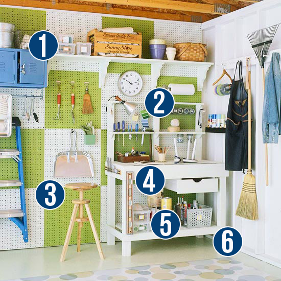 Get This Look - Simple Tips for Garage Organizing from Remodelaholic.com #garage #organizing #tips @Remodelaholic