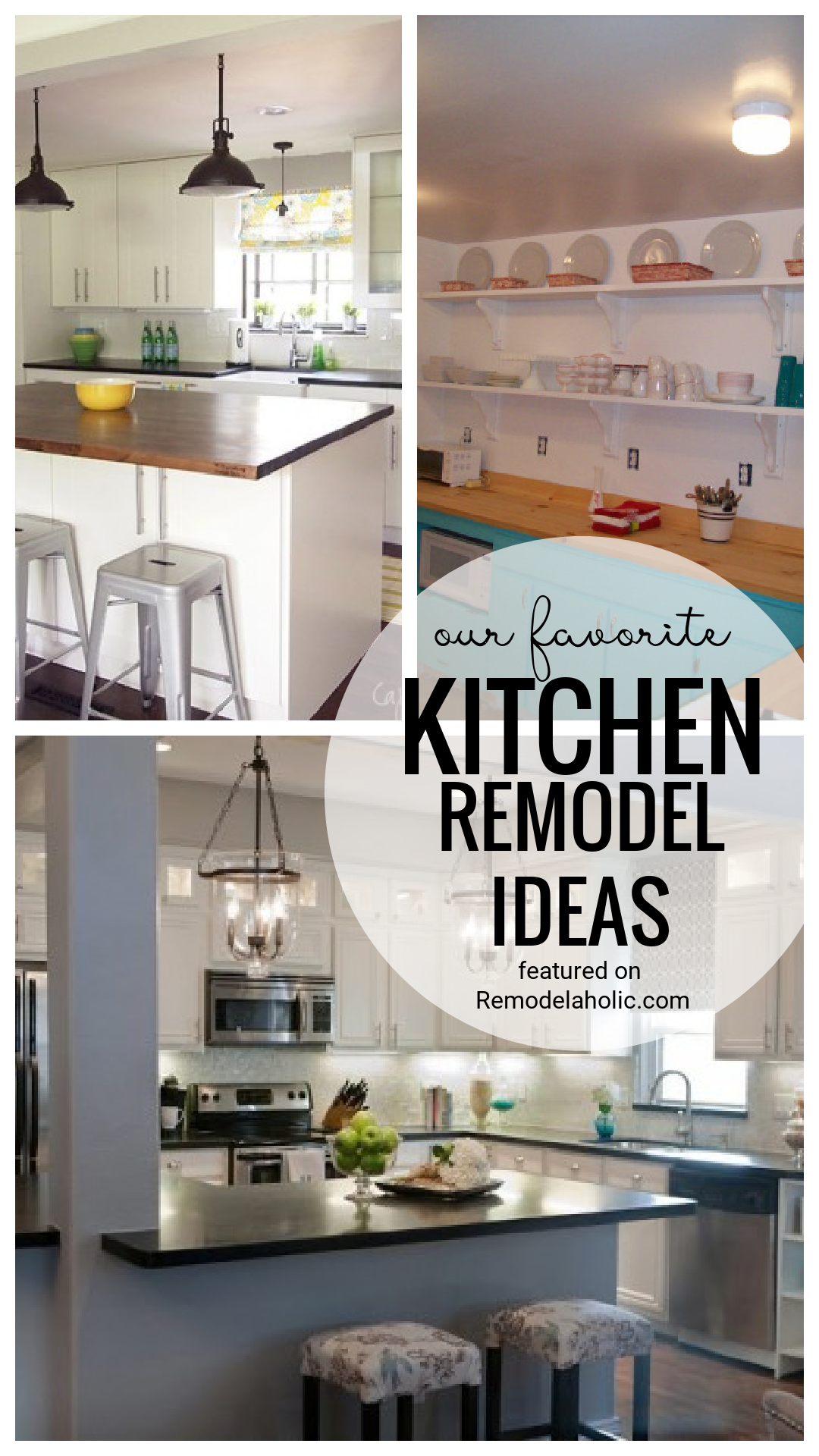 Kitchen Remodeling Ideas Featured On Remodelaholic.com