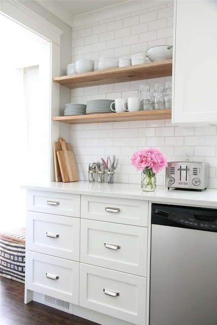 Our House, white kitchen remodel