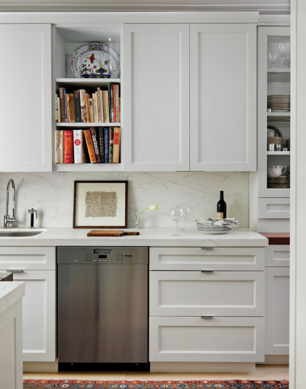 Apartment Designer Kitchen With Sub Zero And Wine Fridge
