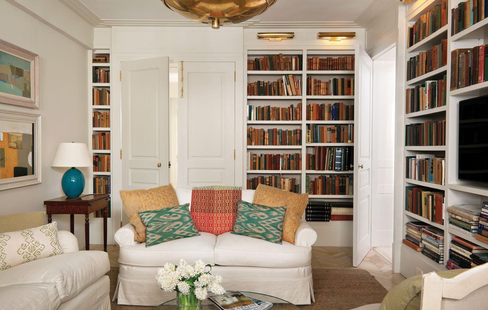 Library Art Deco Apartment In The El Dorado NYC