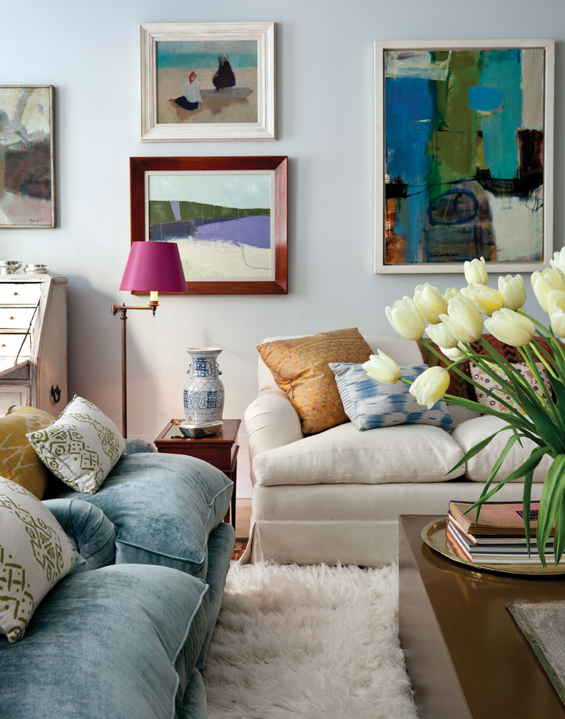 paintings living room deco apartment in the el dorado remodelaholic 11114