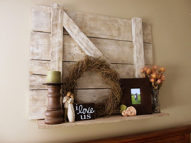 Barn Door Shelf | Lovely Little Snippets
