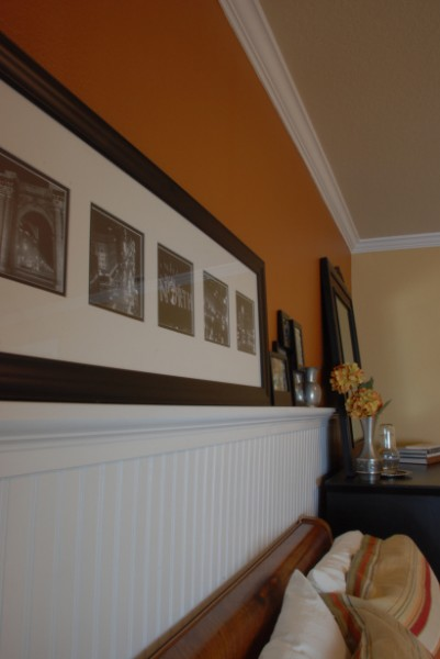 beadboard wainscoting with ledge, Tell'er All About It on Remodelaholic