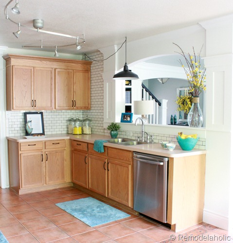 Favorite kitchen remodel ideas remodelaholic for Updated kitchen remodels