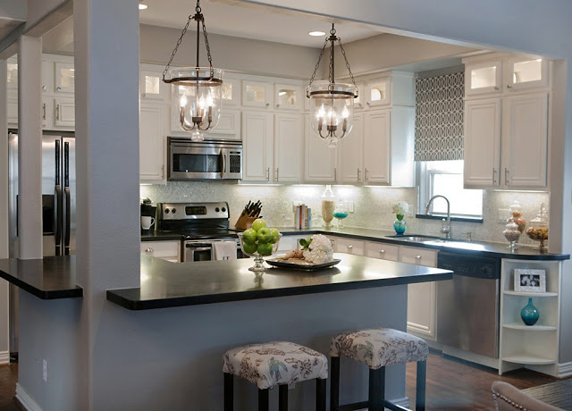 best kitchen remodel ideas -- complete kitchen transformation with white  cabinets, A Well Dressed