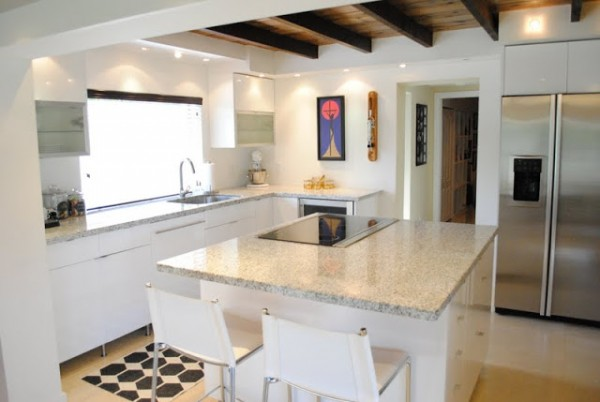 Best Kitchen Remodel Ideas    Kitchen Renovation With Open Floor Plan And  Exposed Ceiling Beams