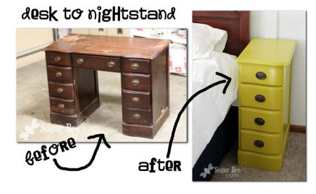 desk to nightstand, Sugar Bee Crafts
