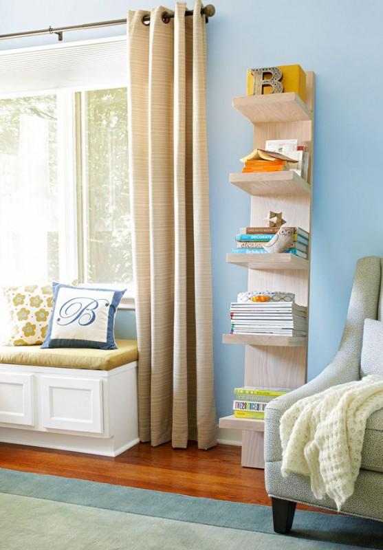diy shelving, leaning shelf, Lowe's Creative Ideas