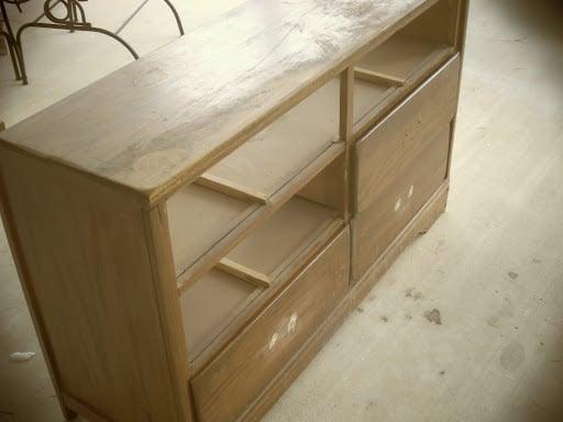 dresser before mudroom bench