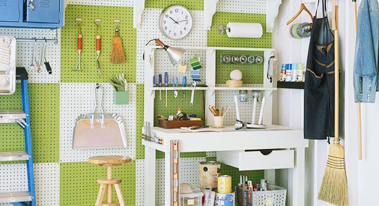 simple tips for garage organizing
