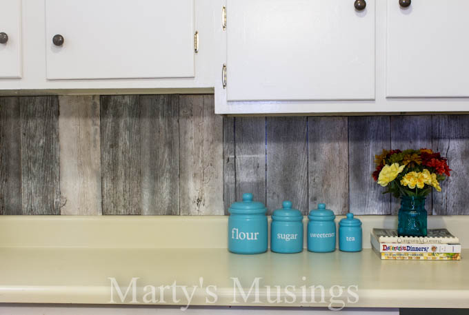 Reclaimed Wood Kitchen Backsplash Remodelaholic