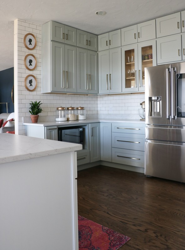 Grey And White Kitchen Remodel DIY, Sincerely Sara D