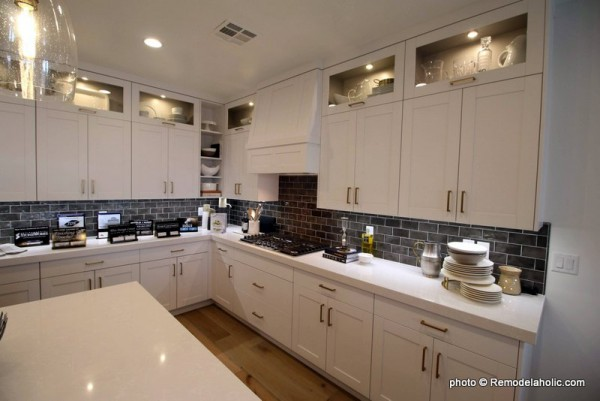 Grey Backsplash And White Kitchen Cabinetry And Design Ideas, SGPH 2019 House 07 Brio Homes LLC (96)