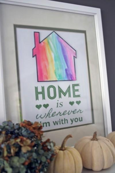 home kids art printable, Fiveorite Things