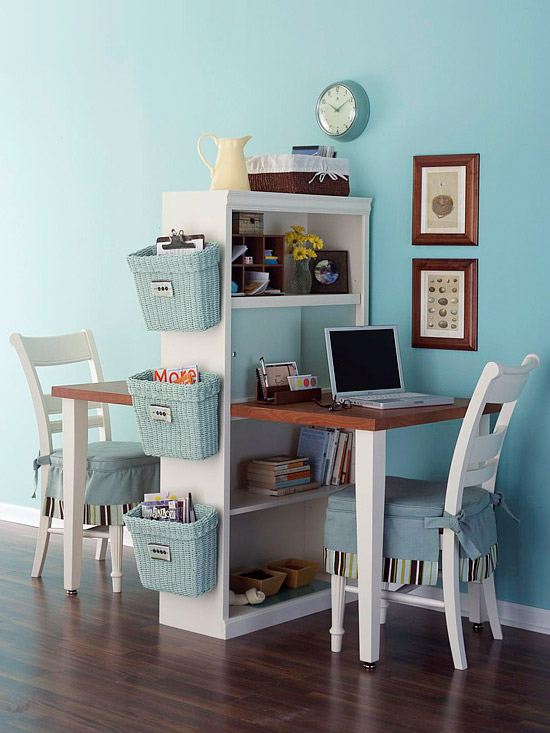 homework station or office for two, Better Homes and Gardens
