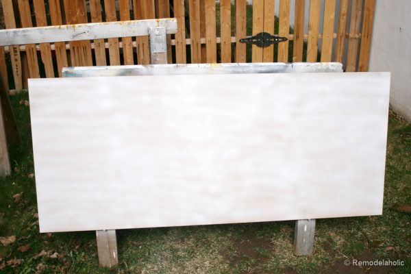 how to build a large chunky frame for a chalkboard-34