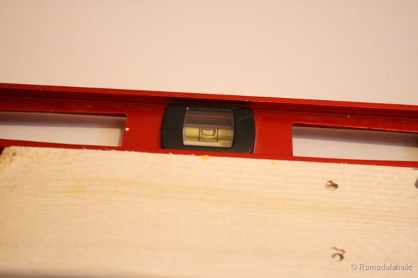 how to build a large chunky frame for a chalkboard-6 (4)
