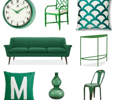 how to incorporate emerald into your home decor