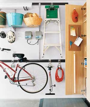 organized garage, Real Simple