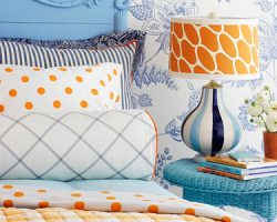 pattern mixing in kids rooms ideas