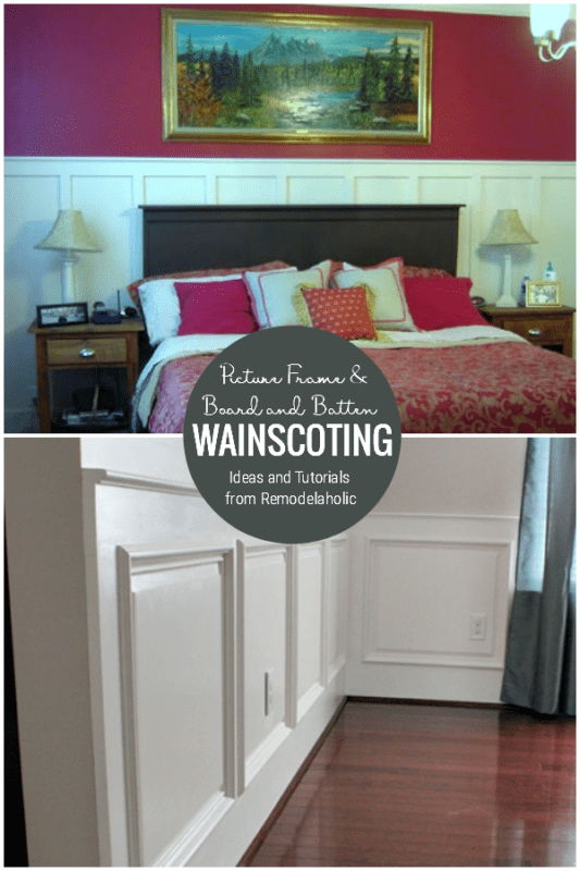 Picture Frame Wainscoting, Board And Batten Wainscoting, Ideas And Tutorials From Remodelaholic