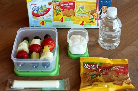 school lunch idea - fresh and fruity kabobs, plus 6 more ideas, Unsophisticook on Snackpicks