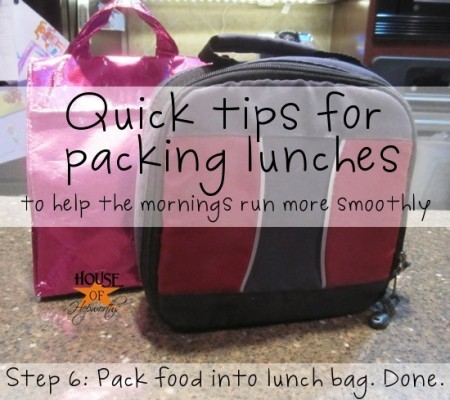school lunch tip - tips for packing gluten-free lunches, House of Hepworths
